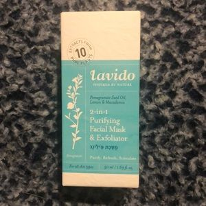 Lavido 2-in-1 Purifying Facial Mask and Exfoliator
